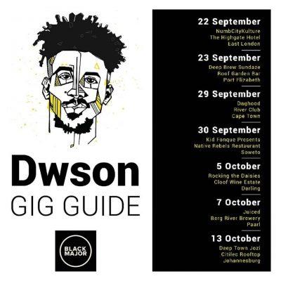 black major gig guide september october dwson